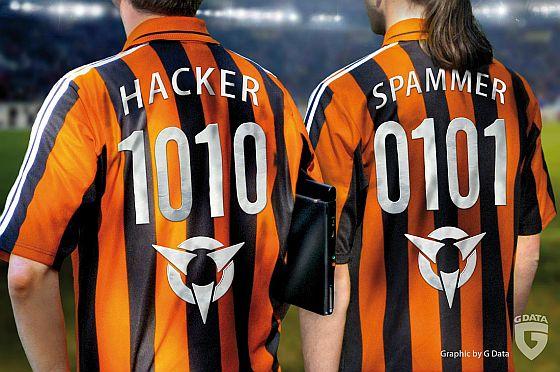 Hacker und Spammer sind zur Fußball-WM besonders aktiv, weil die Aufmerksamkeit der Fans nachlässt. (Foto: G-DATA Software AG / Frank Born )